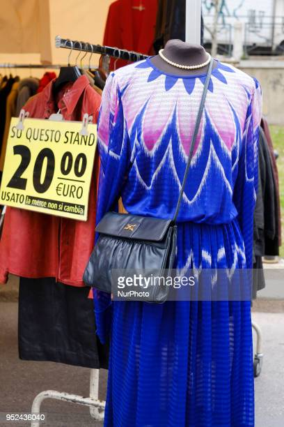 Fiera di Sinigaglia Since 1800s the only 'flea market' in Milan Italy on April 28 2018 It is held every Saturday A typical market VintageIf markets...