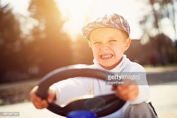 Fierce retro driver