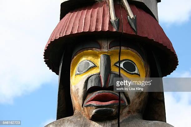 Fierce Totem Pole Face