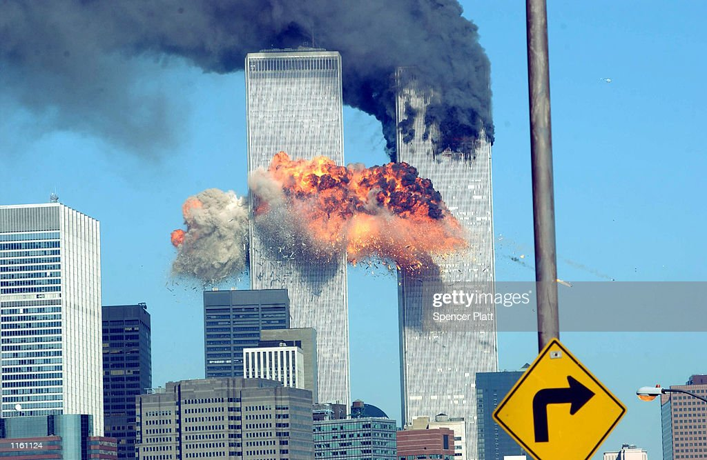 World Trade Center Attacked : News Photo