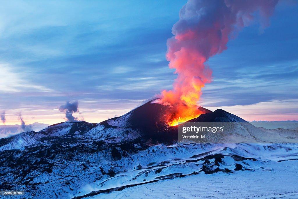 Fiery Kamchatka : Stock Photo