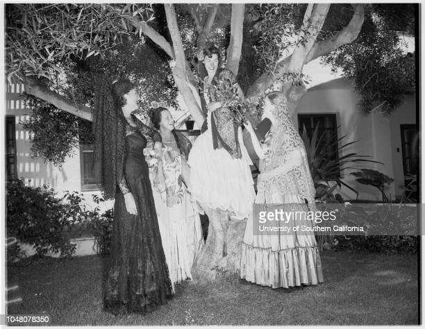 Fiesta 2 August 1951 Jose Manero Paquita del ReyKay ChapmanMarjorie HallFrater AugustFrater CarrollPattye ReilyAnn LambConnie HarderChantal de...