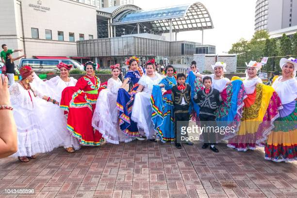 fiesta mexicana 2018 in odaiba tokyo - day of the week stock pictures, royalty-free photos & images