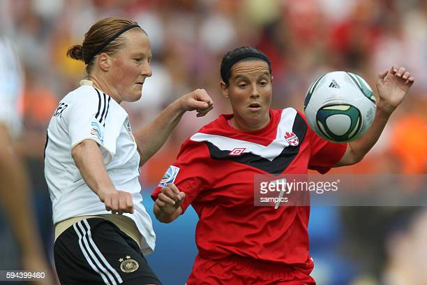 FifA Frauen Fussball WM Weltmeisterschaft 2011 in Deutschland FIFA women world cup 2011 Germany Germany Canada