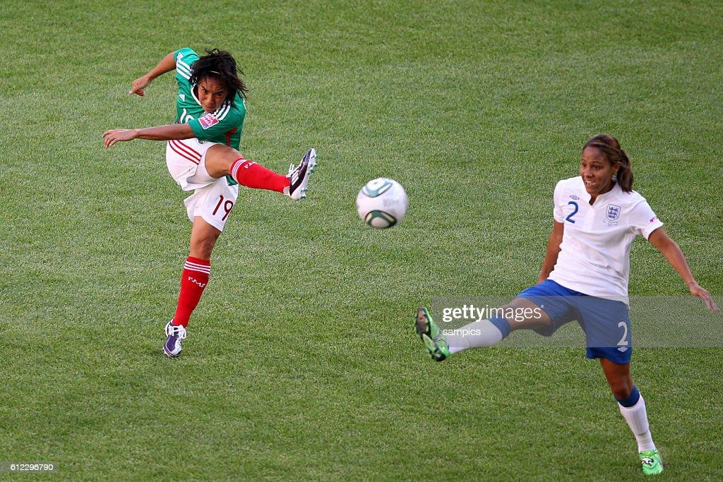 Monica Ocampo Gegen Alex Scott Vorrunde Gruppe B Mexiko
