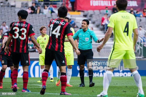 Fifa Referee Alireza Faghani of Iran during the AFC Champions League 2017 Group F match between FC Seoul vs Urawa Red Diamonds at the Seoul World Cup...