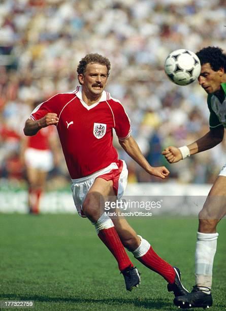 Fifa World Cup 21 June 1982 Algeria v Austria Herbert PROHASKA of Austria