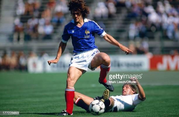 Fifa World Cup 28 June 1982 Austria v France Didier Six of France