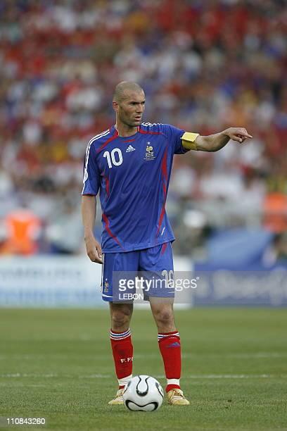 Fifa World Cup France Switzerland In Stuttgart Germany On June 13 2006 Zinedine Zidane