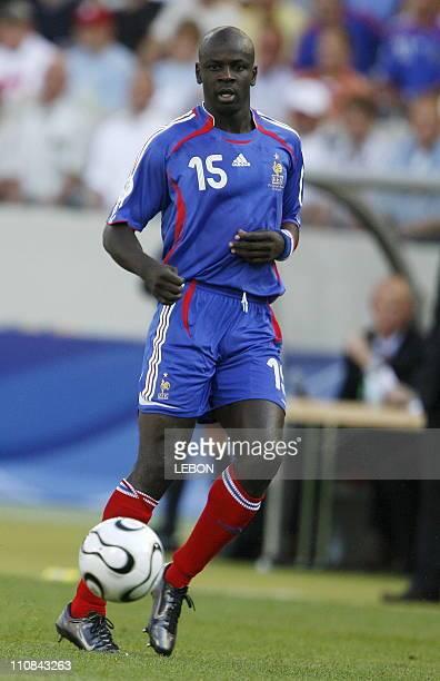 Fifa World Cup France Switzerland In Stuttgart Germany On June 13 2006 Lilian Thuram