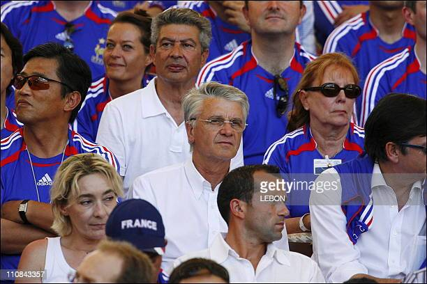 Fifa World Cup France Switzerland In Stuttgart Germany On June 13 2006 Aime Jacquet former coach of French team