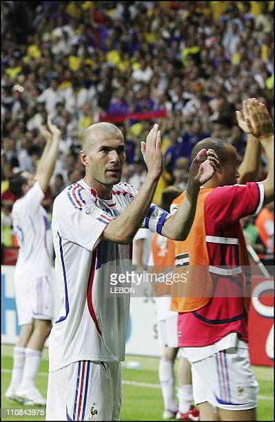 Fifa World Cup Germany 2006 Brazil/France 01 In Frankfurt Germany On July 01 2006 Zinedine Zidane