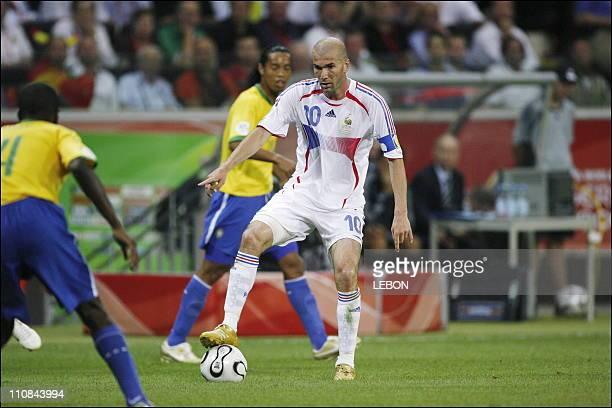 Fifa World Cup Germany 2006 Brazil/France 01 In Frankfurt Germany On July 01 2006 Zinedine Zidane