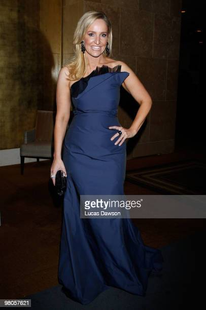 Fifi Box arrives at the F1 Grand Prix Ball at the Crown Palladium on March 26 2010 in Melbourne Australia