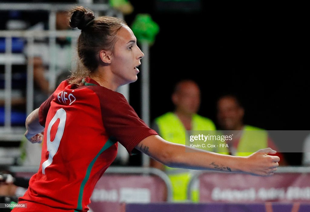 Portugal v Japan  Women s Futsal Final Buenos Aires Youth Olympics 2018    News Photo 4b7c6dcb7a