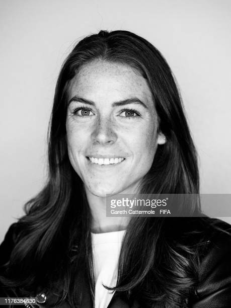 FIFA FIFPro Women's World11 Finalist Kelley O'Hara of USA poses for a portrait at Excelsior Hotel Gallia prior to The Best FIFA Football Awards 2019...