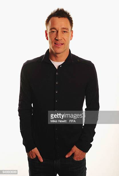 FIFPro World XI player John Terry of Chelsea and England poses for a photo on December 21 2009 in Zurich Switzerland