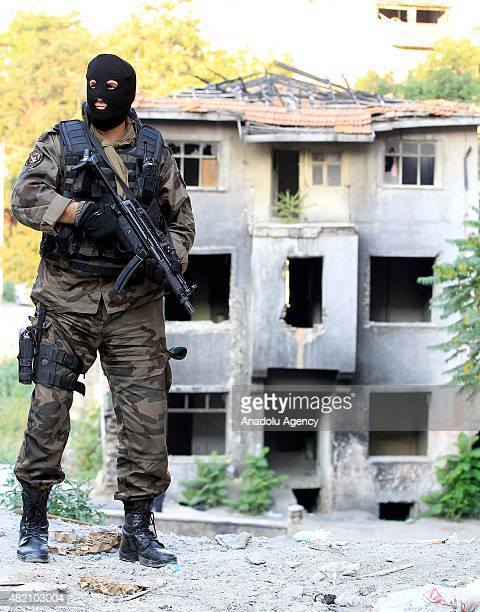 Fifteen people suspected of links to Daesh are arrested in raids in Turkeys capital Ankara's historic Ulus neighborhood on July 27 police said The...