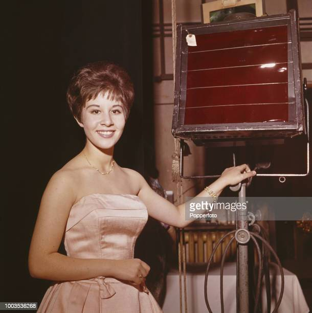 Fifteen year old English pop singer Helen Shapiro posed during rehearsals at a venue in England in October 1961 Helen Shapiro would go on to have two...