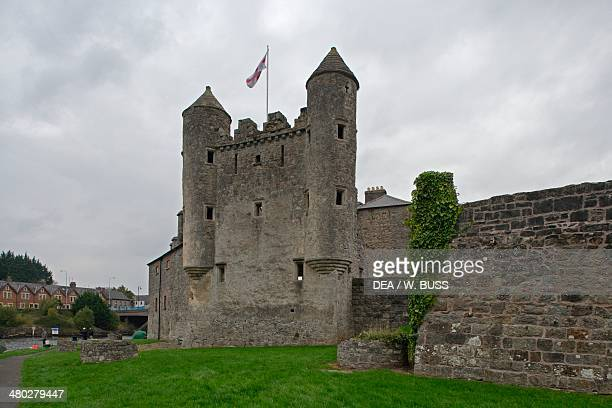 Fifteenthcentury castle now home to Fermanagh county museum and Inniskillings museum Enniskillen Northern Ireland United Kingdom