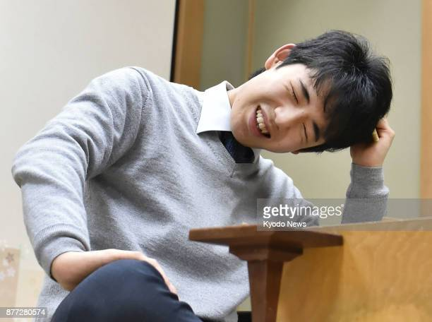 Fifteenyearold Sota Fujii Japan' youngest professional shogi player reflects on his match against 54yearold player Shingo Hirafuji in Osaka on Nov 21...