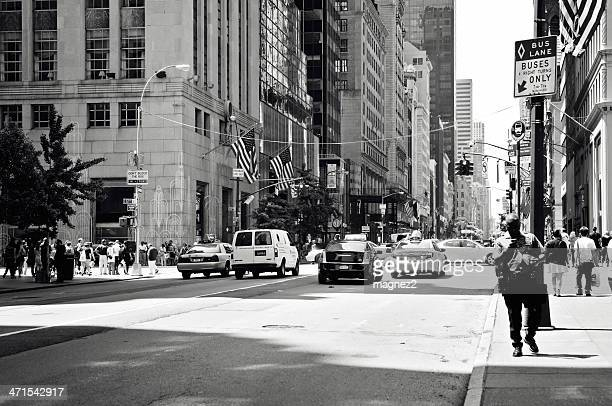 fifth avenue in new york city - bringing home the bacon stock photos and pictures
