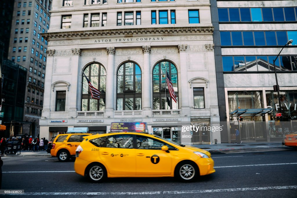 Fifth Avenue in Manhattan New York : Stock-Foto