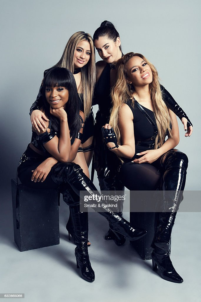 Fifth Harmony, Ally Brooke, Normani Kordei, Lauren Jauregui, and Dinah Jane pose for a portrait at the 2017 People's Choice Awards at the Microsoft Theater on January 18, 2017 in Los Angeles, California.