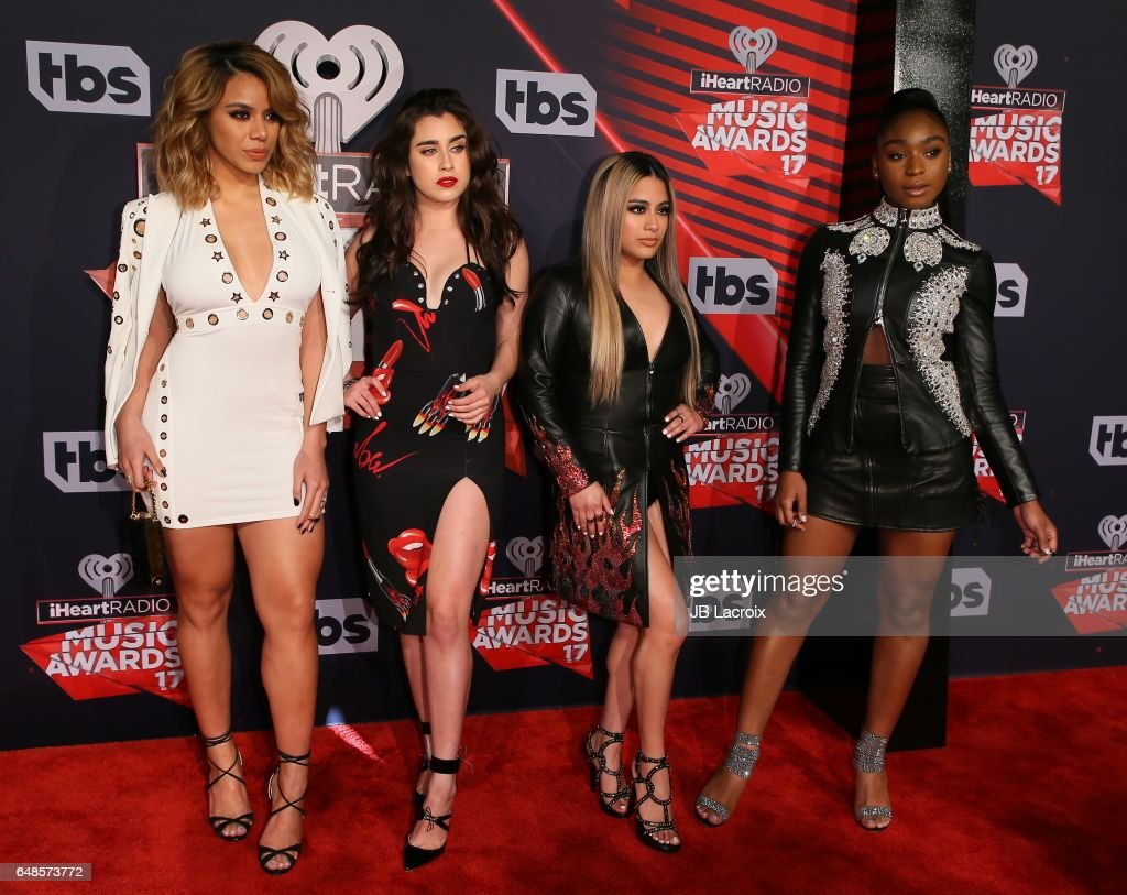 Fifth Harmony attend the 2017 iHeartRadio Music Awards at The Forum on March 5, 2017 in Inglewood, California.