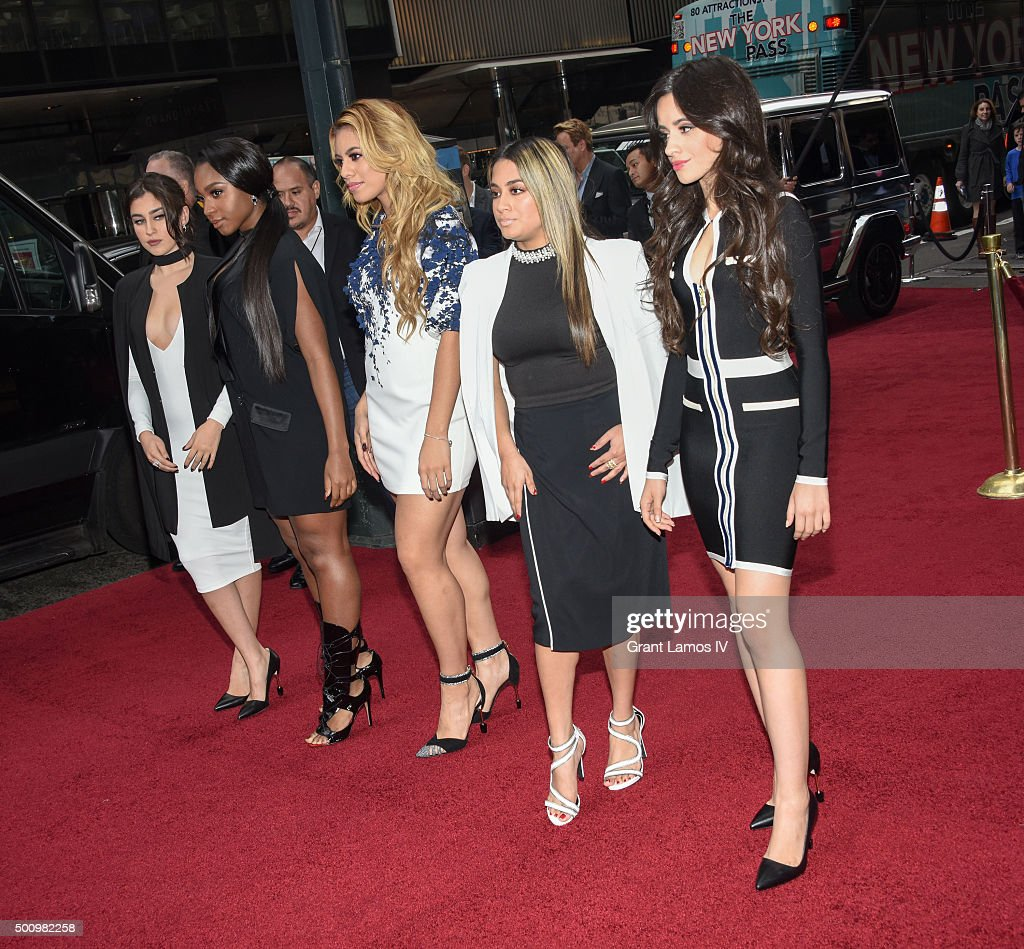 Fifth Harmony attends Billboard's 10th Annual Women In Music at Cipriani 42nd Street on December 11, 2015 in New York City.