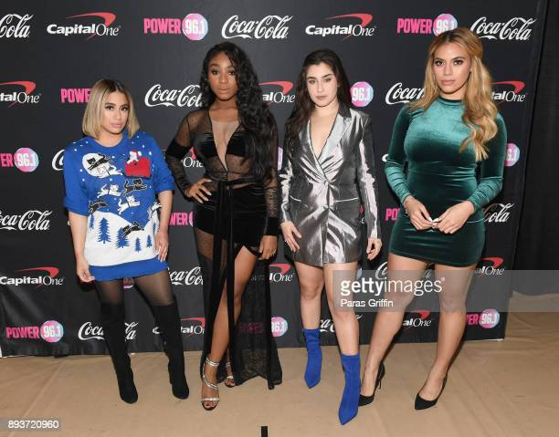 Fifth Harmony attends Power 961's Jingle Ball 2017 Presented by Capital One at Philips Arena on December 15 2017 in Atlanta Georgia