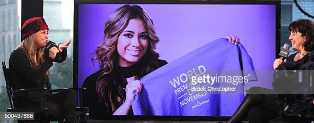 Fifth Harmony member Ally Brooke discusses her hitmaking group and her role as celebrity ambassador for the March of Dimes at AOL Studios In New York...
