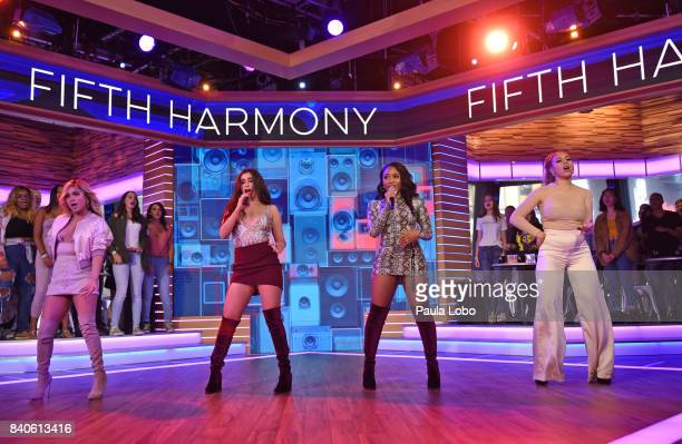 AMERICA Fifth Harmony perform live on 'Good Morning America' Tuesday August 29 2017 airing on the ABC Television Network FIFTH