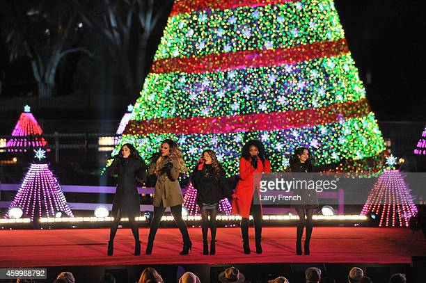Fifth Harmony performs at the National Park Foundation and Google's 'Made with Code' National Christmas Tree Lightening Ceremony on December 4 2014...