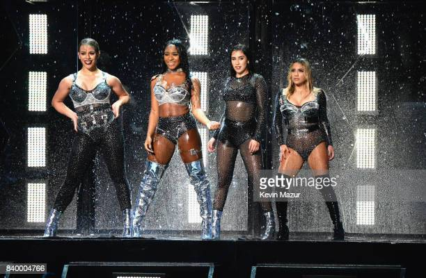 Fifth Harmony performs during the 2017 MTV Video Music Awards at The Forum on August 27 2017 in Inglewood California
