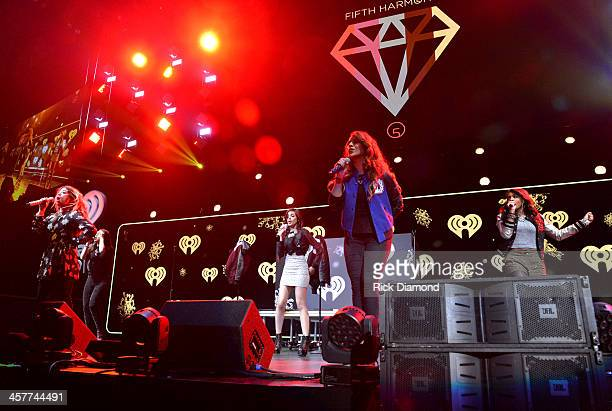 Fifth Harmony performs onstage during 933 FLZ's Jingle Ball 2013 at the Tampa Bay Times Forum on December 18 2013 in Tampa Florida