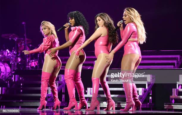 Fifth Harmony performs onstage during TIDAL X Brooklyn at Barclays Center of Brooklyn on October 17 2017 in New York City