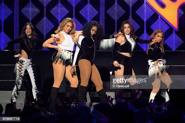 Fifth Harmony performs onstage during Z100's Jingle Ball 2016 at Madison Square Garden on December 9 2016 in New York City