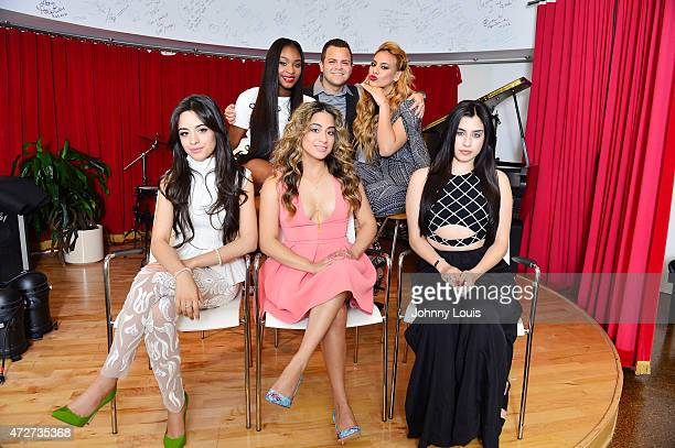 Fifth Harmony poses for portrait on May 1 2015 in Miami Florida