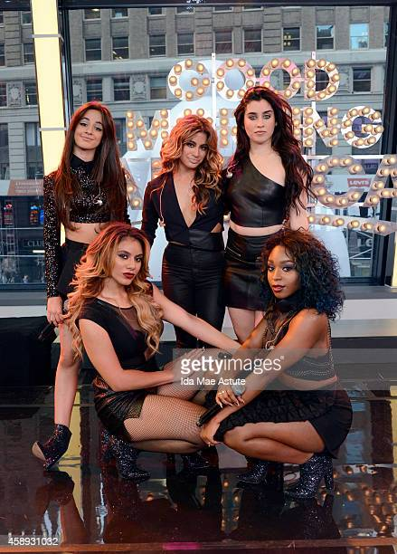 AMERICA Fifth Harmony the allgirl group created on The X Factor performs on GOOD MORNING AMERICA on WEDNESDAY NOV 12 airing on the Walt Disney...