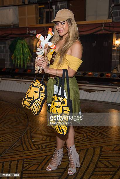 Fifth Harmony's Dinah Jane Hansen attends 'The Lion King' On Broadway at Minskoff Theatre on August 30 2016 in New York City
