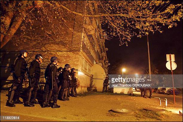 Fifth Night Of Unrest In Paris Suburb Of ClichySousBois On October 31St 2005 In Clichy Sous Bois France Here For The Fifth Consecutive Nights Youths...