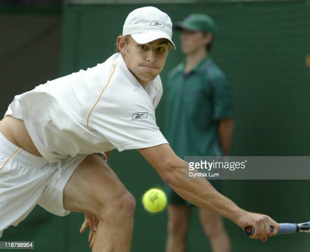 Fifth seed Andy Roddick, with the highest serve speed ever recorded at the Wimbledon Championships at 141mph, advances to the semifinals after his...