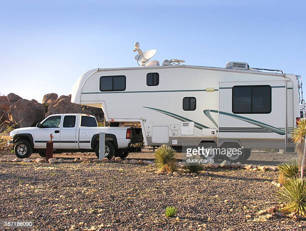 Fifth Wheel Trailer & Truck
