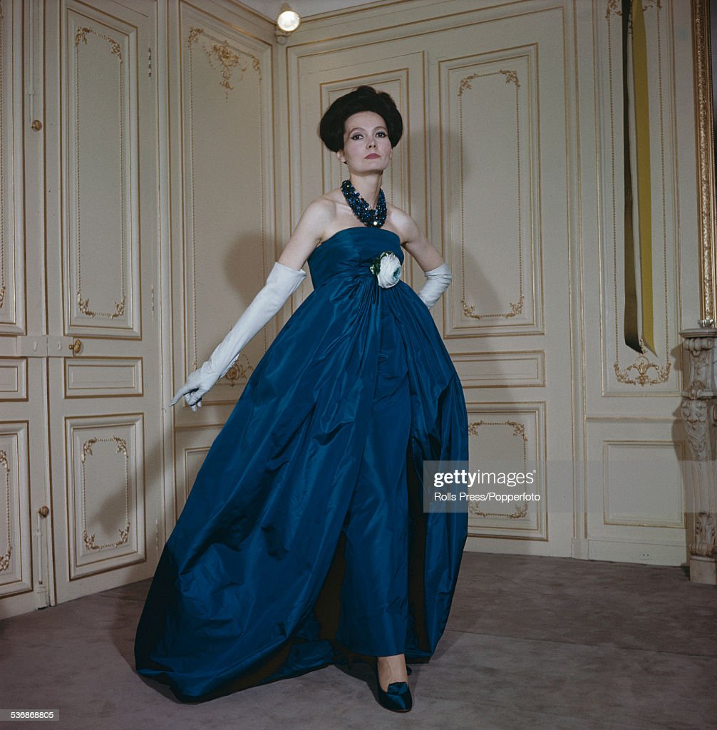 Pierre Cardin Evening Dress Pictures | Getty Images