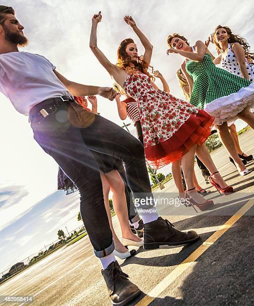 Fifties High School Graduation Sunset Dance