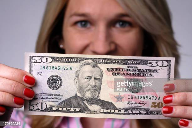 Fifty Dollars US Cash