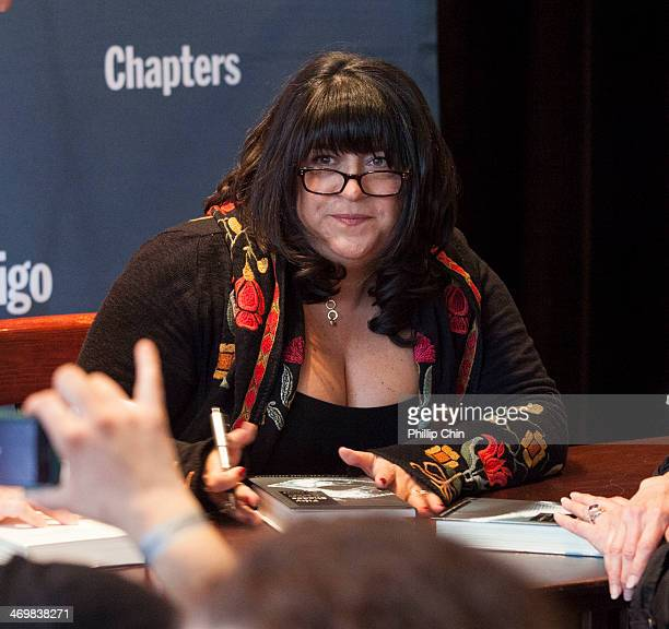 """Fifty Shades of Grey"""" author E.L. James meets her fans during her book signing event at Chapters on February 16, 2014 in Vancouver, Canada."""