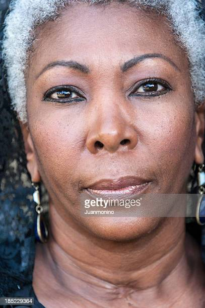fifty something afrocaribbean woman