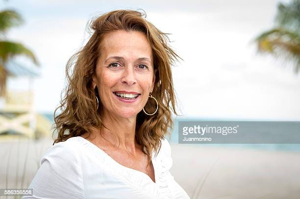 fifty something woman - beautiful israeli women stock pictures, royalty-free photos & images